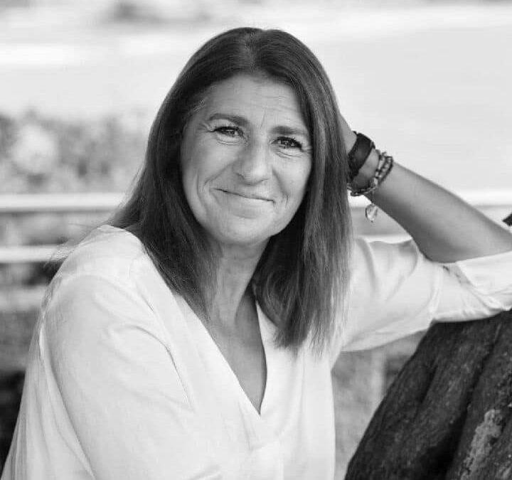 Portrait de Nathalie Beau de Loménie, auteure du livre Biarritz et la Mode