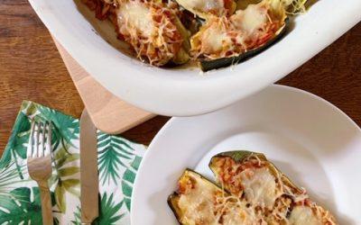 Les Courgettes farcies végétariennes, un plat d'été par excellence